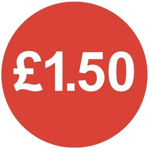 Audioprint Lot Petit 13mm £ 1,50Prix Stickers-10000PACK