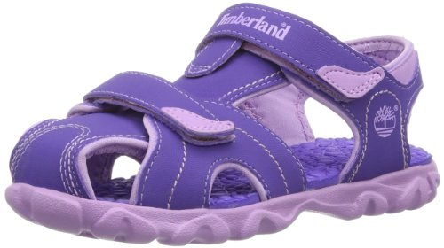 Timberland Unisex-Child Splashtown Closed Toe Fashion Sandals C78X2R Purple/Lilac 3.5 UK, 36 EU