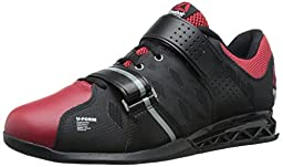 Reebok Men\'s R Crossfit Lifter Plus 2.0 Training Shoe, Black/Excellent Red/Flat Grey, 12.5 M US