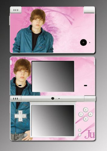 Justin Bieber Baby My World Game Vinyl Decal Cover Skin Protector #18 Nintendo DSi