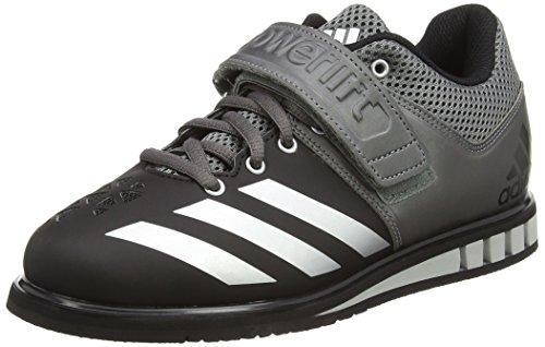 Adidas Powerlift, Scarpe Sportive Indoor Unisex - Adulto, Nero, 44 EU