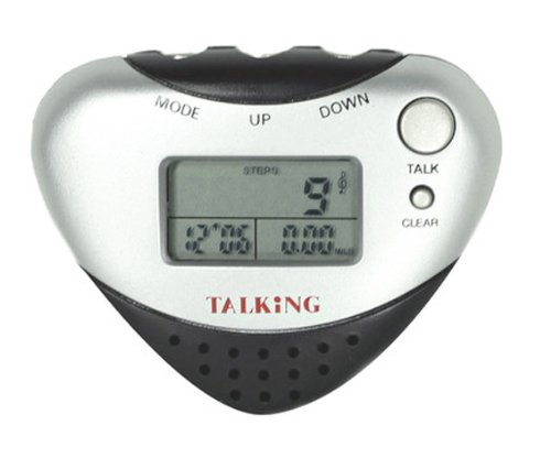Image of Talking Pedometer-Announces Steps & Distances (B008G4QOOI)