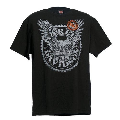 Harley-Davidson 110th Anniversary Overseas Tour Horizon T-Shirt Mens, X-Large, Black