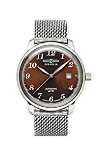 Zeppelin Watches Men's Wristwatch XL Automatic Analog Stainless 7656M3