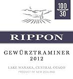 2012 Rippon Gewürztraminer Wine, Central Otago - Lake Wanaka 750 mL