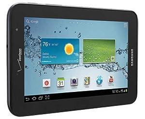 "Samsung Galaxy Tab 2 SCH-I705 8 GB Tablet - 7"" - Verizon - 4G - Qualcomm 1.20 GHz - Black"