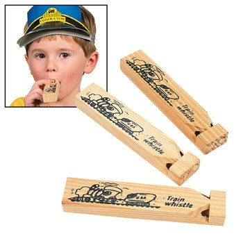 Train Whistles - Gifts for Kids