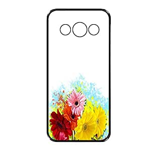 Vibhar printed case back cover for Samsung Galaxy Core WhiteManyFlo