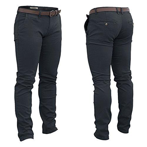 Pantalone Uomo LANCETTI Cotone Elasticizzato Slim Fit 3 Colori Art.L432 ( Blue - 50)