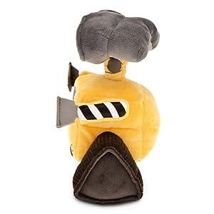 Disney Pixar Wall-E Movie Exclusive 7 Inch Mini Bean Plush WALL-E (Color: Yellow, Black, White, Gray, Tamaño: 7 Tall)