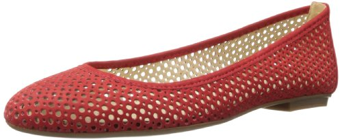 French Sole FS/NY Women's League Ballet Flat,Red,11 M US