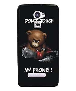 Techno Gadgets back Cover for Panasonic Eluga Mark