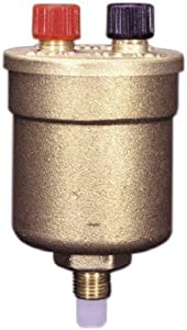 Watts Brass & Tubular 1/8' Boiler Vent Valve Duo Vent 1 Valves Relief