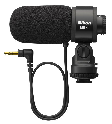 41xLcKyK09L Nikon 27045 ME 1 Stereo Microphone Supplied with Wind Screen and Soft Case