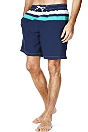XXXL Blue Harbour Cut & Sew Drawstring Quick Dry Swim Shorts