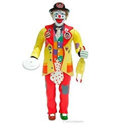 J.P. Patches the Clown Action Figure