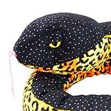 ZSL - Plush Glitter Snake Black 130cm