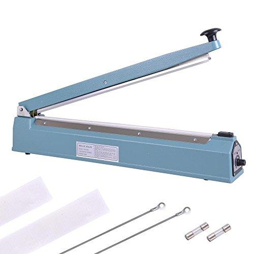 Fantastic Deal! Yescom 20 500mm Impulse Manual Hand Sealer Heat Sealing Machine Poly Tubing Plastic...