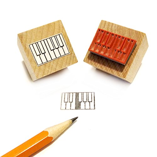 Mini-Piano-diagam-Gummi-Stempel