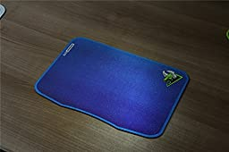 Rantopad New GTR Large Gaming Mouse Pad Frosted Matte Non-skid Rubber Base 13.8x9.5x0.09 in, Blue