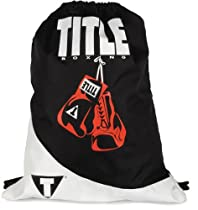 TITLE Boxing Gym Sack Pack, Black/White