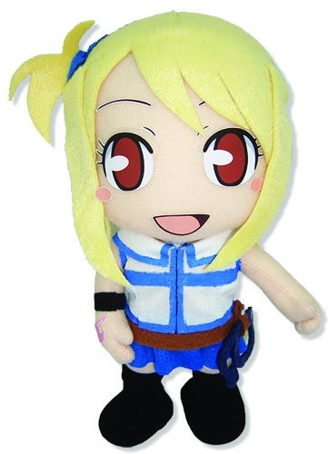 Great Eastern Animation Official Fairy Tail Anime Lucy Heartfilia 8″ Plush image