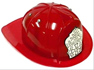 Toysmith Plastic Fireman Play Hat