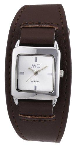 MC Timetrend Damen-Armbanduhr Analog Quarz Kunstleder 50552