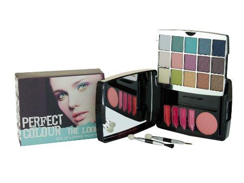 Jigsaw ESL, Perfect Colour The Look, Palette di trucchi, incl. rossetti, ombretti e fard, 23 pz.