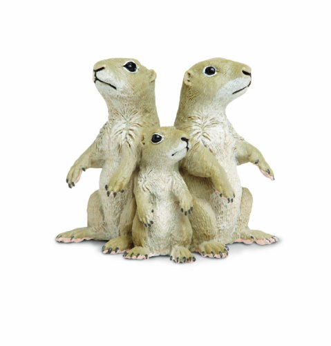 Prairie Dogs Plastic Figure<br>Safari Ltd