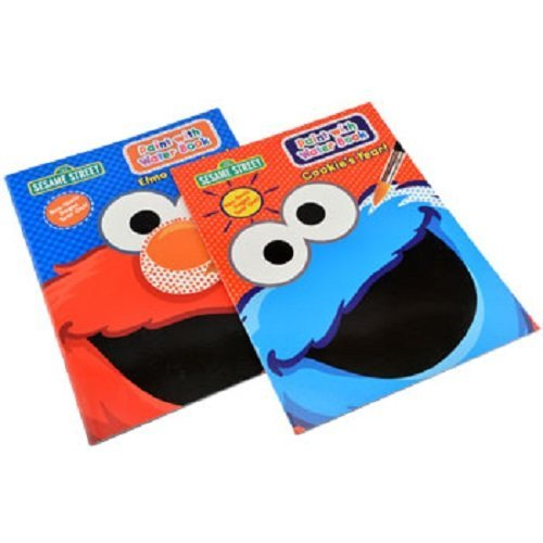 Sesame Street® Paint with Water Set of 2 Books.