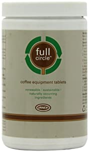 Urnex Full Circle Coffee Equipment Tablets, 120 ct from Urnex