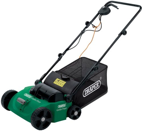 Draper 45544 1,300-Watt Lawn Raker and Scarifier