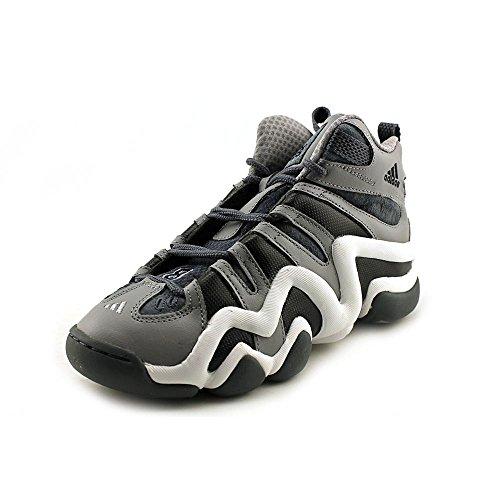 Adidas Crazy 8J Scarpe da Basket in alluminio nero da uomo 4,5