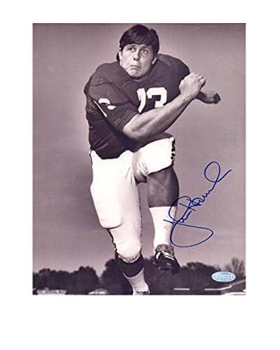 Steiner Sports John Hannah Alabama Vertical B&W Photo