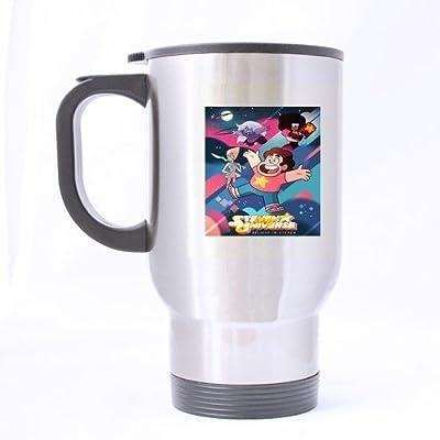 Custom Funny Steven Universe Cover Tv Series Cartoon Birthday or Anniversary Gift Travel Mug