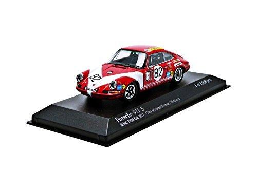 minichamps-143-scale-1971-porsche-911s-kremer-neuhaus-winners-adac-1000km-car-orange
