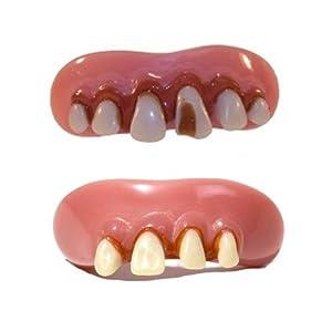 Billy Bob Assorted Redneck Snaggle Cavity Costume Teeth