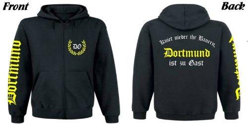 Dortmund Kapuzen-Sweatjacke Fussball,