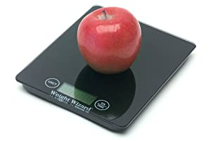 Digital Kitchen Food Scale by WEIGHT WIZARD - Grams and Ounces - Slim and Stylish in... by Weight Wizard