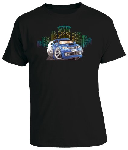 koolart-cartoon-caricature-style-of-subaru-impreza-wrx-sti-blue-mens-t-shirt-black-medium