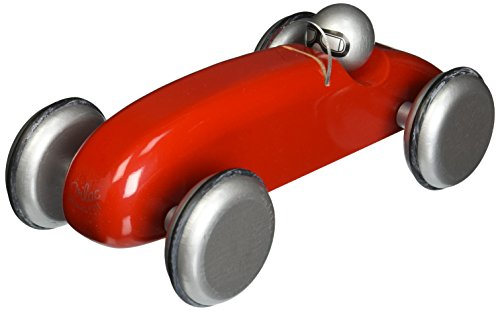 Vilac Speedster Race Car Toy, Red - 1