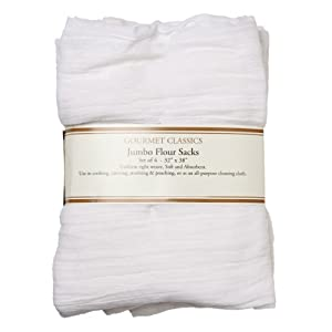 Amazon.com: HIC White Jumbo Flour Sack Towels, 32 by 38