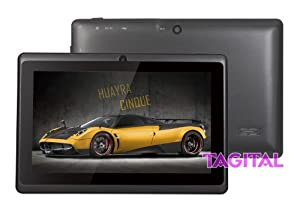 "Tagital® 7"" Android 4.2 A23 Dual Core Tablet PC Dual Camera Black (Updated Version) from MTM Trading LLC"