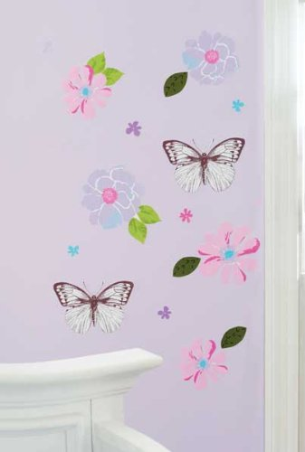 Just Born Girl Bella Wall Decals front-728032