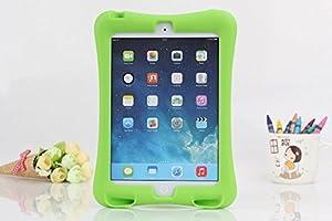 COLJOY Carcasa Verde De Caucho Para Niños Diseñado Para iPad mini/mini 2/mini 3, Verde   revisión y más información
