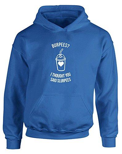 burpees-i-thought-you-said-slurpees-gedruckt-kinder-kapuzenpullover-konigsblau-weiss-12-13-jahre
