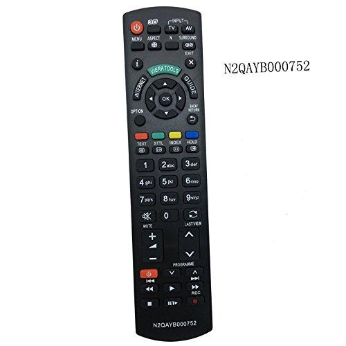 Il nuovo rimontaggio Telecomando N2QAYB000752 Fit per Panasonic LED, LCD o PLASMA TV modello n. RM-D1170