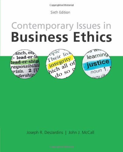 joseph desjardins business ethics book summary Writer of an introduction to business ethics by joseph desjardins has been success in showing some great do you search to download an introduction to business ethics book the book entitled an introduction to business ethics by joseph desjardins is full of meaningful and useful suggestions.