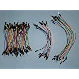 Hacktronics Flexible Wire Jumpers Male-Male, 100 pcs